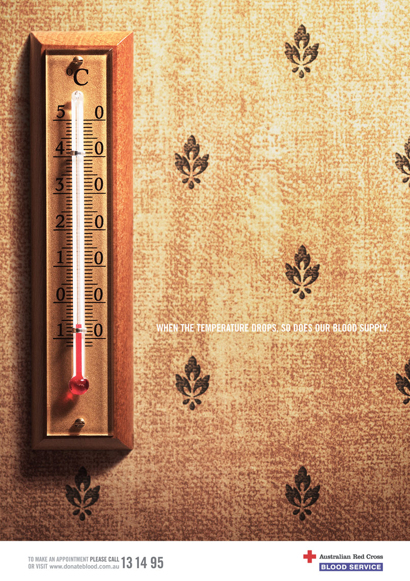 Red Cross Thermometer